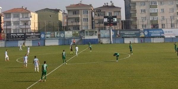 Tuzlaspor'a 3-2 mağlup oldu.