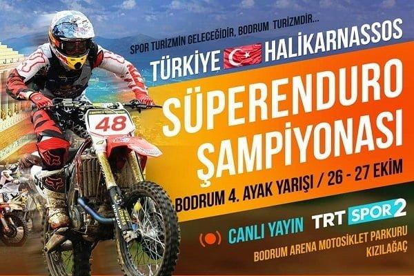 Bodrum Türkiye Süperenduro Şampiyonasına ev sahipliği yapacak.