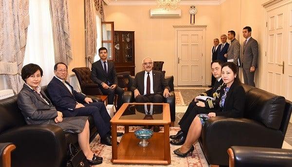 Güney Kore Büyükelçisi Choi Hong-Ghi, Muğla'da
