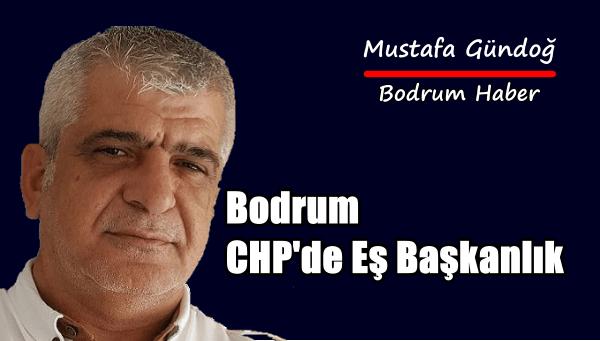 Bodrum CHP'de Eş Başkanlık