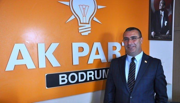 AK Parti Bodrum ilçe başkanı Özmen görevinden istifa etti…