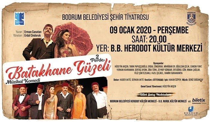 Bodrum Belediyesi Şehir Tiyatrosu ocak ayı programı