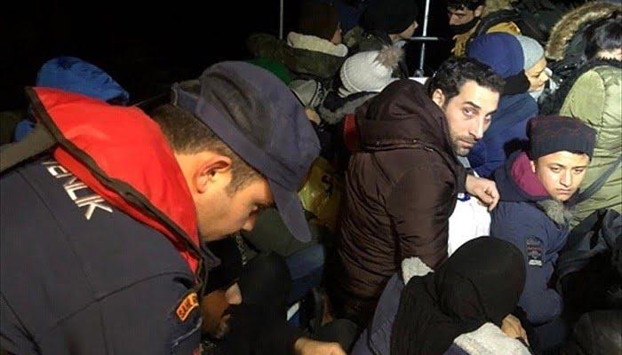 Botta 39 düzensiz göçmen yakalandı