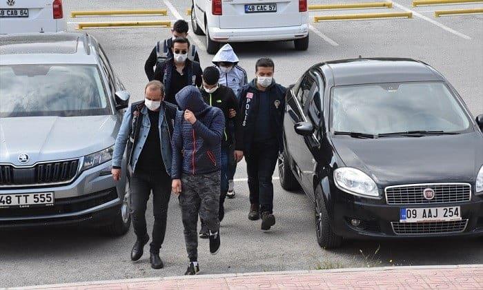 Bodrum'da motosiklet hırsızlığına tutuklama