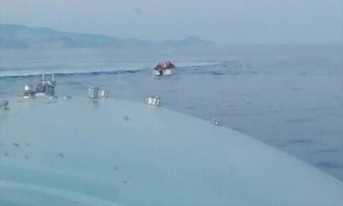 Yunan Sahil Güvenlik unsurlarınca geri itilen 6 sığınmacı kurtarıldı