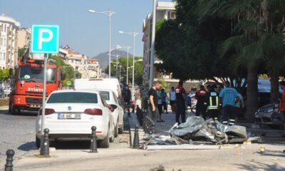 Otelin çalışma yapılan sıcak su tankı patladı: 2 yaralı