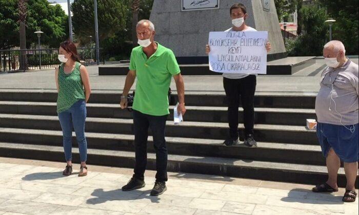 Büyükşehir Belediyesi Esnafı İsyan Ettirdi…
