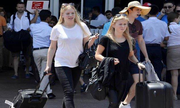 Almanlar, Türkiye'de tatil için sabırsızlanıyor