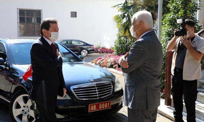Muğla Valisi Tavlı, Büyükşehir Belediye Başkanı Gürün'ü ziyaret etti