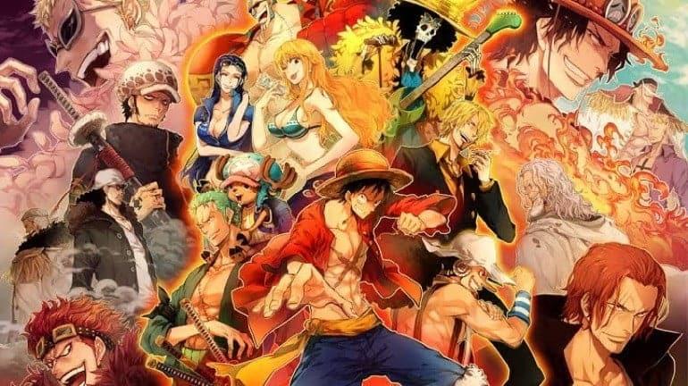 Efsane Anime Serisi One Piece
