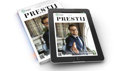 Zingat Prestij Dergisi'nin 2. sayısı çıktı!