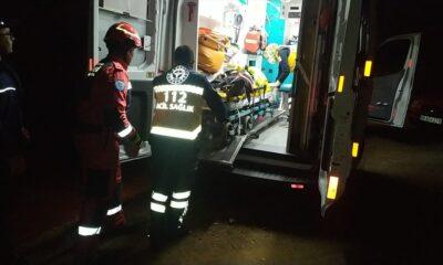 Muğla'da uçurumdan düşen kadını itfaiyeciler kurtardı
