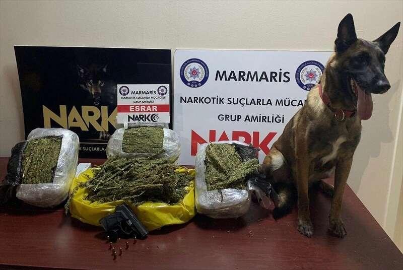 Muğla'daki uyuşturucu operasyonunda bir şüpheli yakalandı