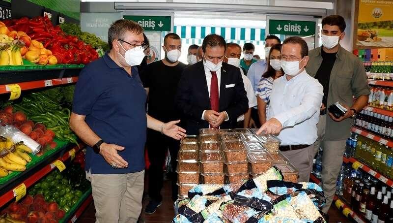 Tarım Kredi Kooperatif Market'in 397'nci şubesi Fethiye'de açıldı