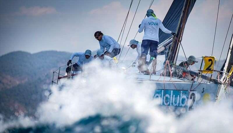 HDI Loryma Cup Yelkenli Yat Yarışları başladı.