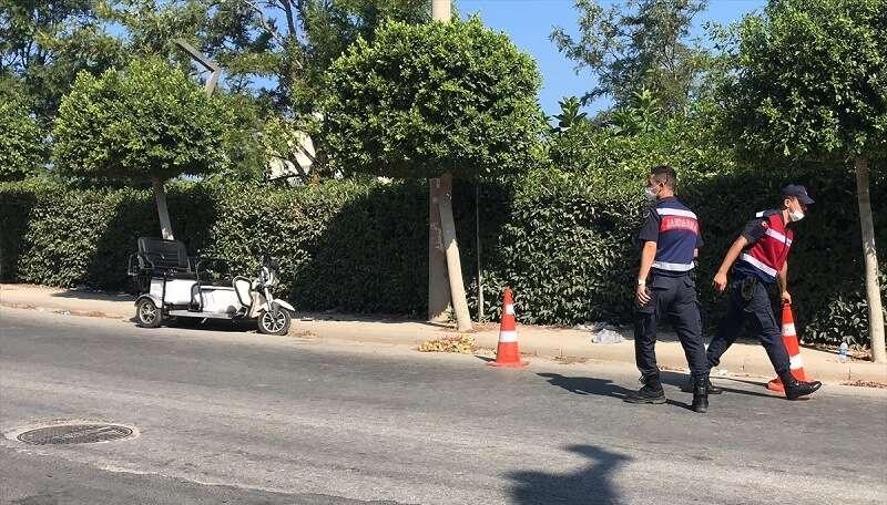 Bodrum'da fenalaşarak elektrikli bisikletten düşen kişi öldü