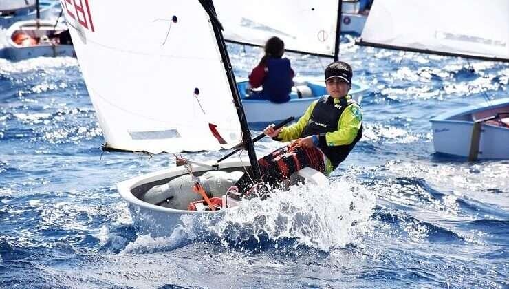 TYF 2021 Optimist Türkiye Şampiyonası heyecanı devam ediyor