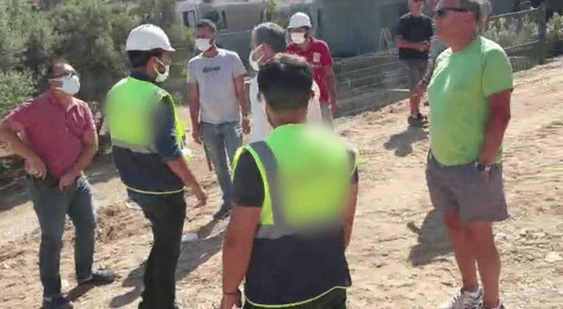 """Bodrum'da """"Bülent Eczacıbaşı, silahlı adamlarıyla şantiye bastı!"""""""