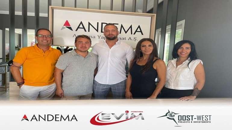 EvimTürkiyem'den Andema yapı ile Bodrum'da yeni bir proje daha