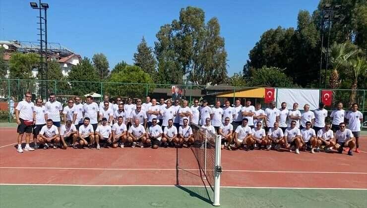 """""""Likya Cup Veteran Erkekler Tenis Turnuvası"""" sona erdi"""