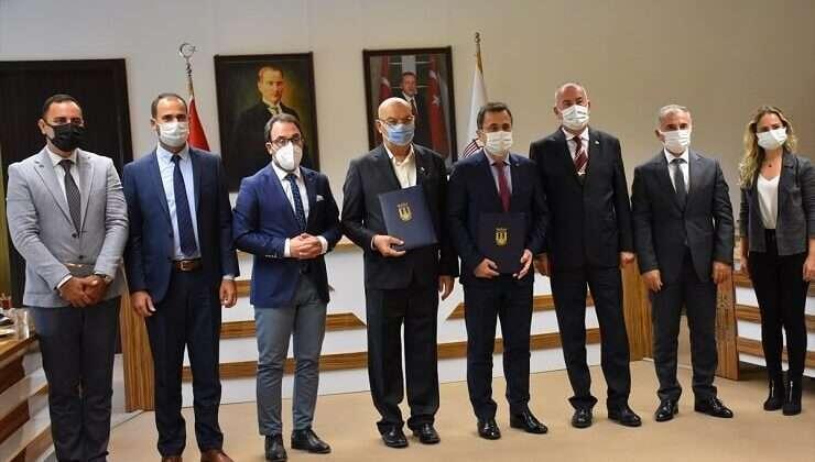 """MSKÜ ile Kılıç Deniz Ürünleri arasında """"marka dersi"""" protokolü imzalandı"""
