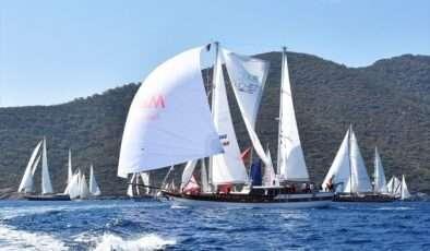 Yelken Yarışları'nda ikinci gün mücadelesi