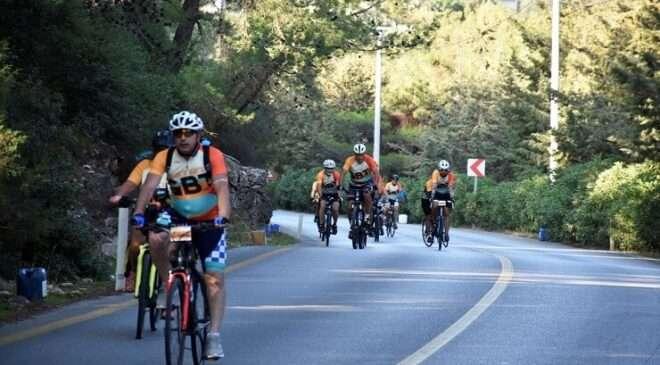 15. Gökova Bisiklet Turu Bodrum'da başladı