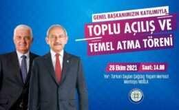Kemal Kılıçdaroğlu, açılış ve temel atma töreni için Muğla'ya gelecek